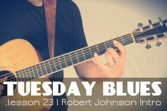 Robert Johnson Style Intro in A | TB023