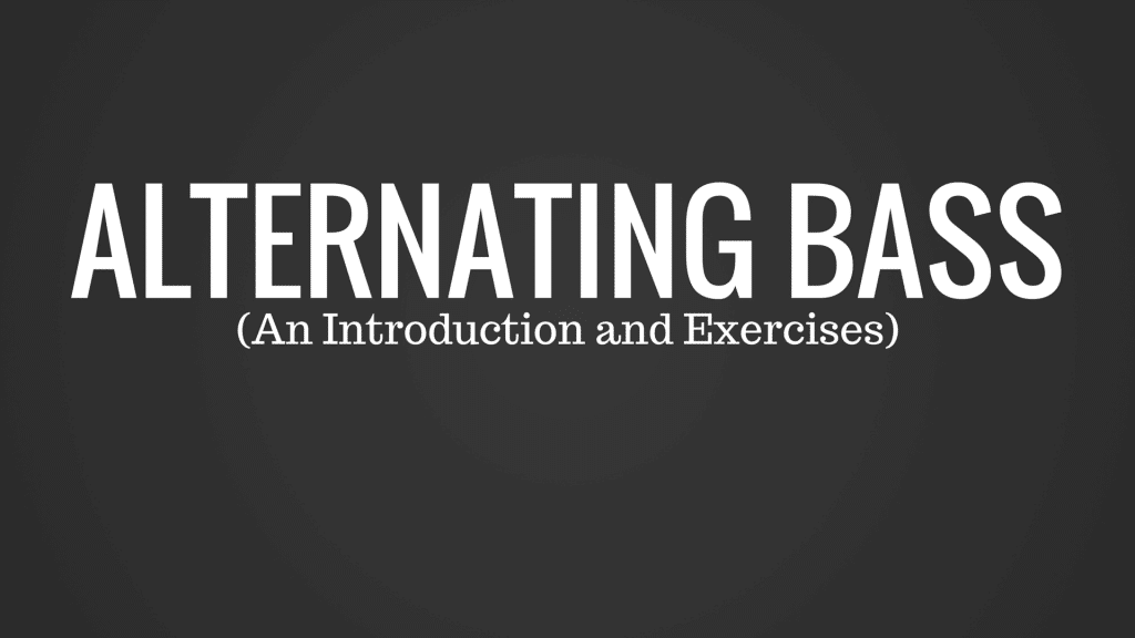 Here's a Few Quick Exercises to Help You Nail Alternating Bass | TB105