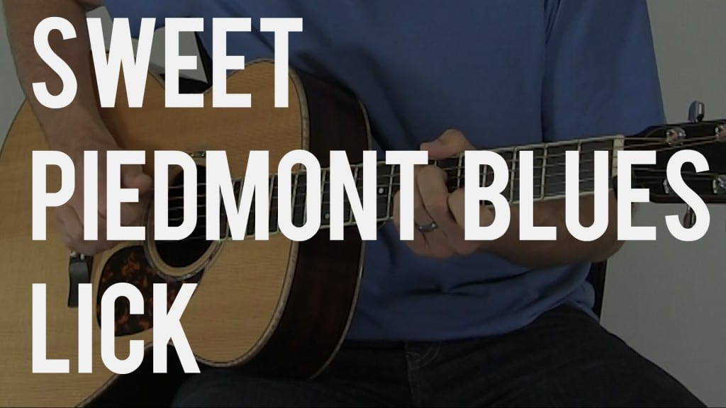 How to Play a Sweet Piedmont Blues Lick | TB124