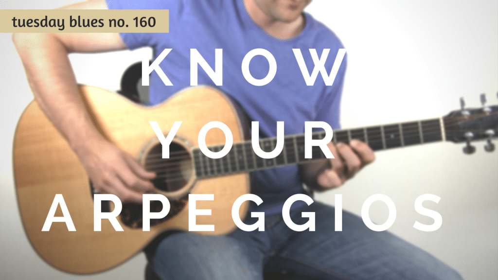 The Reason Why You Should Know Your Arpeggios