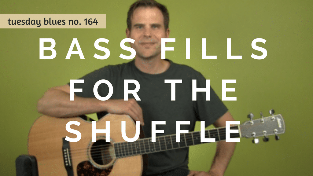 How to Play 3 Bass Fills to a Funky Blues Shuffle   TB164