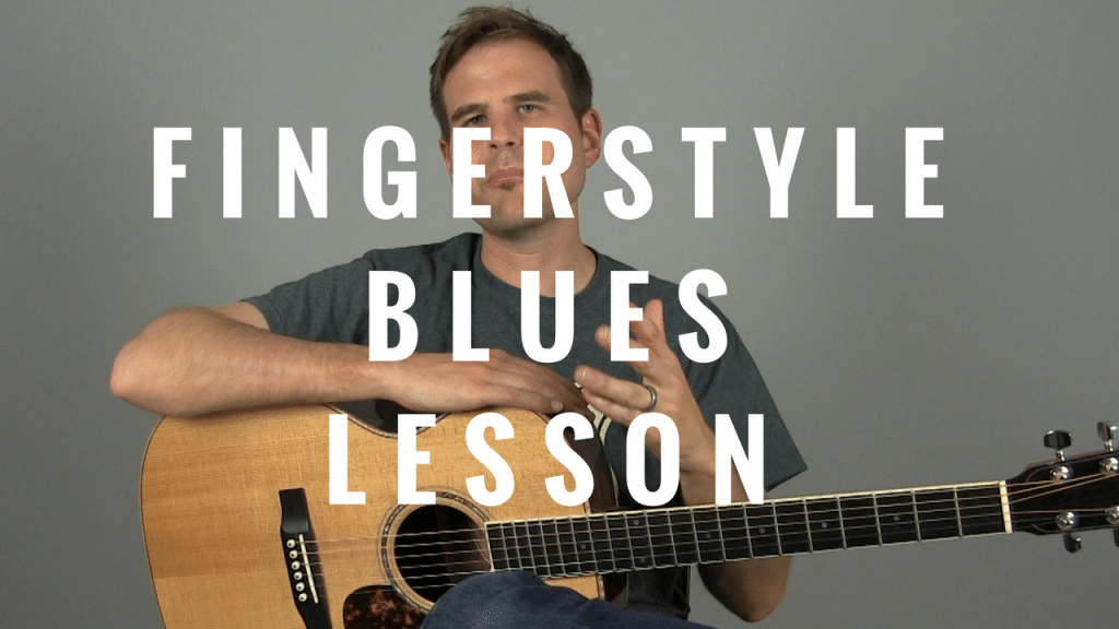 How to Play a Modern Blues Verse – Fingerstyle | TB169
