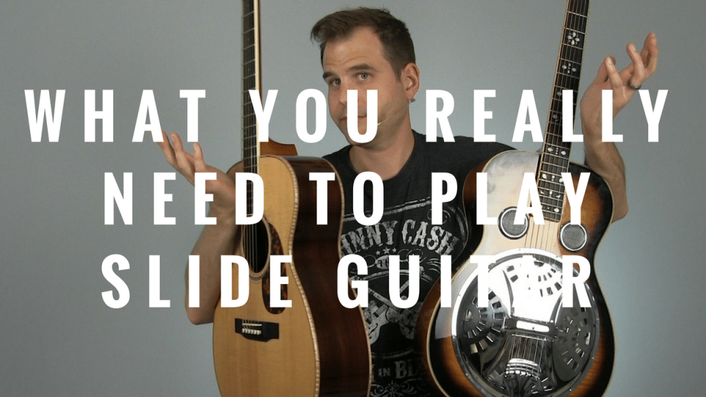 What You Really Need to Play Slide Guitar | TB173