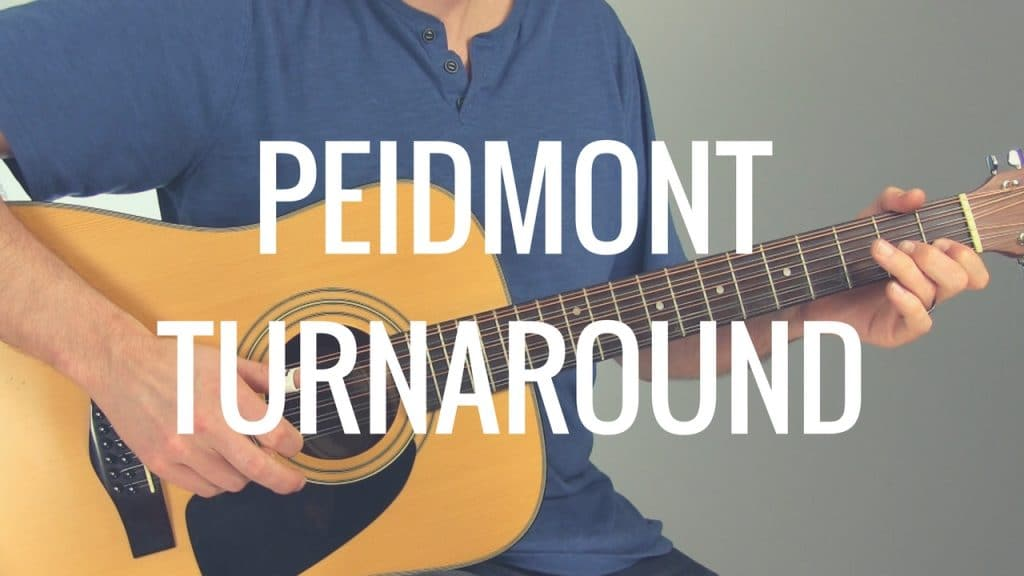 How to Play a Piedmont Blues Turnaround