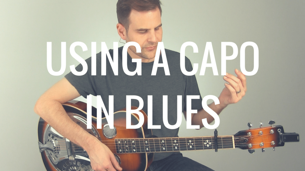 A Smart Use of a Capo in Blues | TB189