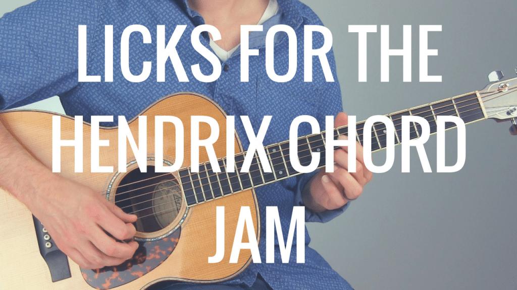 2 Cool Licks for the Hendrix Chord Jam | TB196