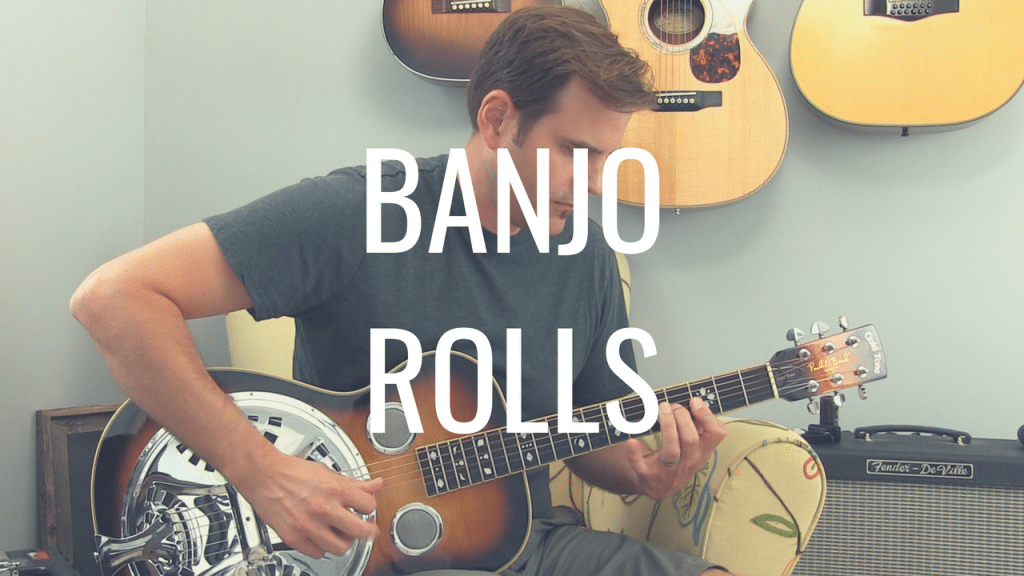 How banjo rolls can help you become a better fingerpicker | TB206