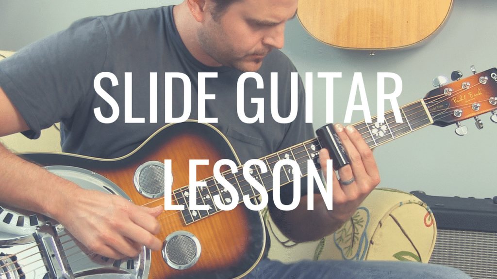 Sound Bluesy with this Quick Slide Guitar Lesson | TB208