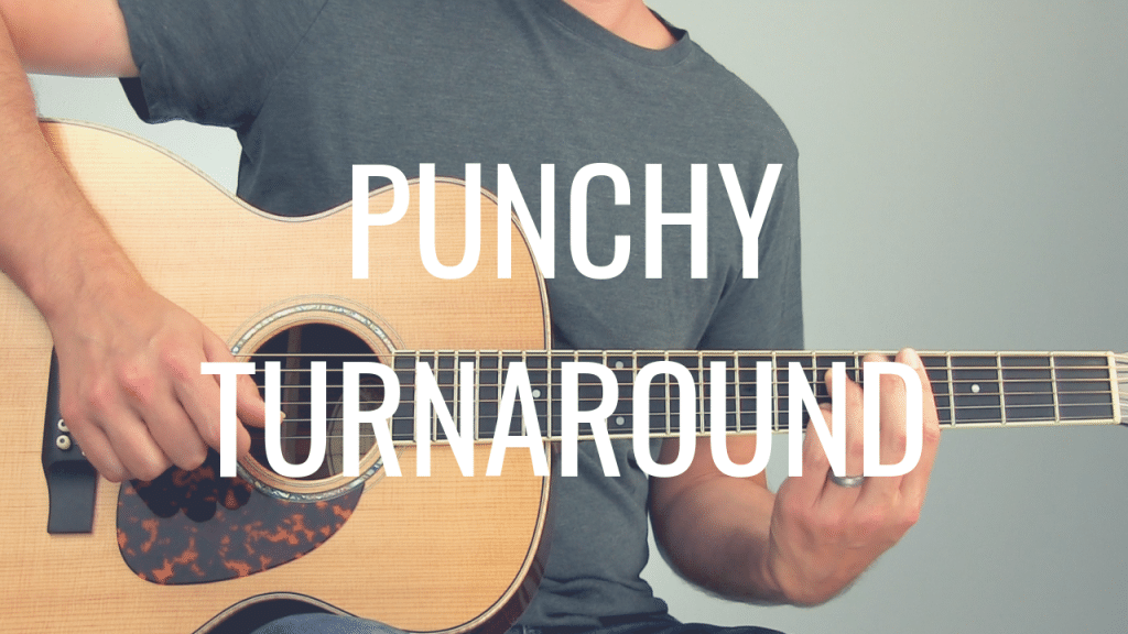 How to Play a Punchy Fingerstyle Blues Turnaround | TB214
