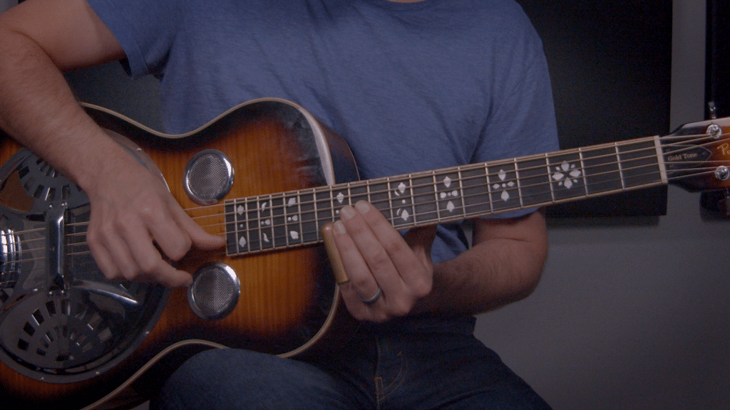 How to Play a Driving Delta Blues Slide | TB243